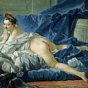 The Odalisque Art Print by Francois Boucher