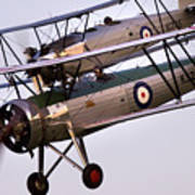 The Old Aircraft Art Print