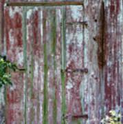 The Old Barn Door Art Print