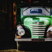 The Old Beer Truck Art Print