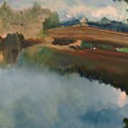 The Old Bridge Art Print
