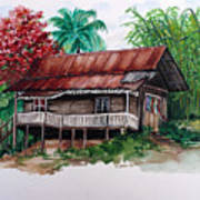 The Old Cocoa House  Art Print