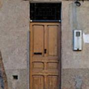 The Old Door. Art Print