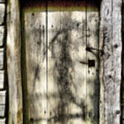 The Old Door Art Print