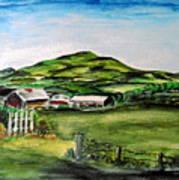 The Old Farm Art Print