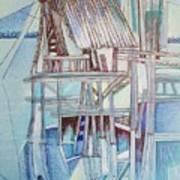 The Old Fishing Shack Art Print