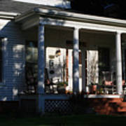 The Old Front Porch Art Print