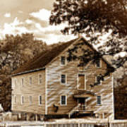 The Old Gristmill  Art Print