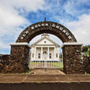 The Old Koloa Church Art Print