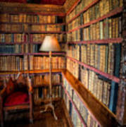 The Old Library Art Print