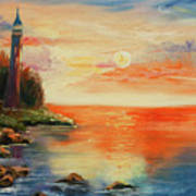 The Old Lighthouse  Art Print