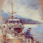 The Old Man And The Sea 01 Art Print