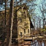 The Old Mill In The Countryside Art Print