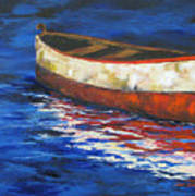 The Old Red Boat 2011 Art Print