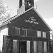 The Old Ridgway Firehouse Art Print