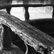 The Old Ships Rail Art Print