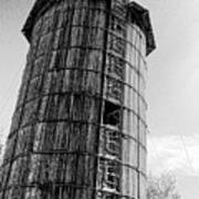 The Old Silo Art Print