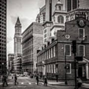 The Old State House Art Print