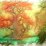 The Old Tree Of The Forest Art Print