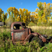 The Old Truck  Chama New Mexico Art Print