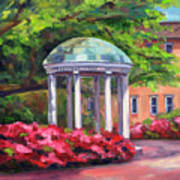 The Old Well Unc Art Print by Jeff Pittman