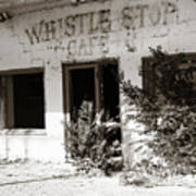 The Old Whistle Stop Cafe Art Print