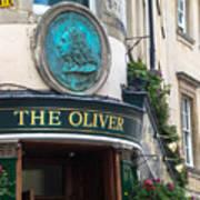 The Oliver Pub Art Print