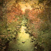 The Onset Of Autumn Art Print