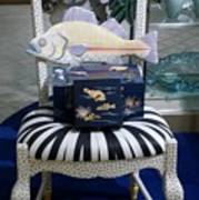 The Original Fish Chair  Art Print