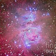 The Orion Nebula Region Art Print