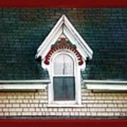 The Ornamented Gable Art Print
