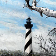 The Other View Of Hatteras Art Print