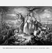 The Outbreak Of The Rebellion In The United States Art Print