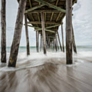 The Outer Banks North Carolina Fishing Pier Art Print