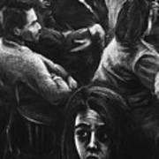 The Outsider's Restless Mind Art Print