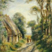 The Outskirts Of Berneval  Art Print