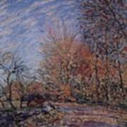 The Outskirts Of The Fontainebleau Forest Art Print