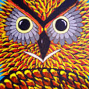 The Owl Stare Art Print