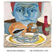 The Oyster Eater Art Print