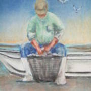 The Oysterman Art Print