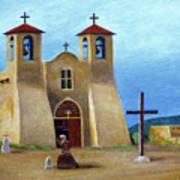 The Padre's Prayer Art Print