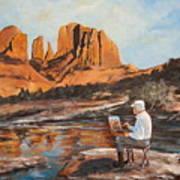 The Painter Woods Art Print