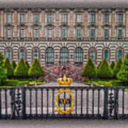 The Palace Courtyard Art Print