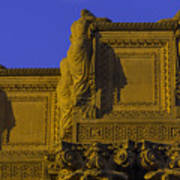 The Palace Of Fine Arts  Art Print