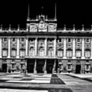The Palacio Real, Madrid  Art Print