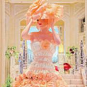 The Palazzo Casino Venetian Rose Dress Art Print