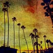 The Palms Art Print