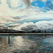 The Panoramic Painting Art Print