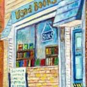 The Paperbacks Plus Book Store St Paul Minnesota Art Print