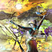The Parable Of The Sower Art Print by Miki De Goodaboom
